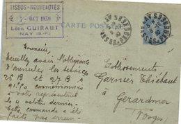 64 NAY - Léon Guiraut - Oblitération (entiers Postaux) - Andere Gemeenten