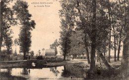 72 - Cpa 02 Athies Sous Laon - La Grande Fosse - France