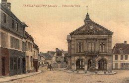 87 - Cpa 02  Blérancourt - Hôtel De Ville - Non Classés