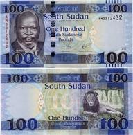 SOUTH SUDAN     100 South Sudanese Pounds    P-15c     2017     UNC  [ Sud - Sur ] - South Sudan