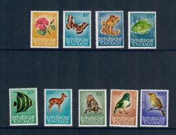 TOGO 1964 - FIORI E ANIMALI - 9 VALORI DI UNA SERIE - MNH** - Togo (1960-...)