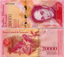 VENEZUELA       20,000 Bolívares       P-99a       18.8.2016       UNC  [ 20000 ] - Venezuela