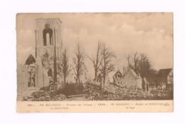 Ruines Du Village De Pervyse.Expédié En Franchise Militaire à Paris.Courrier D'un Soldat Belge à Sa Marraine De Guerre. - Weltkrieg 1914-18