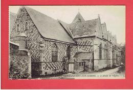 SAINT VALERY SUR SOMME ABSIDE DE L EGLISE CARTE EN TRES BON ETAT - Saint Valery Sur Somme