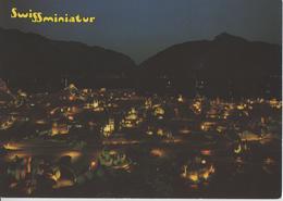 Swissminiatur - Melide - Vue Generale De Nuit, Vista Generale Di Notte - Photo: Engelberger - TI Tessin