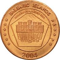 Espagne, Medal, Essai 1 Cent, 2004, SPL, Cuivre - Spain
