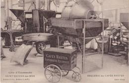 SAINT-SERVAN-sur-MER - Brûlerie Des Cafés Bastus Situé Au 52 Rue Georges Clémenceau- Carte Peu Courante - Saint Servan