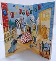 Walt Disney - Carte POP-UP - La Belle Et Le Clochard. - Disney