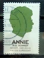 2010 Netherlands Annie M.G Schimdt Used/gebruikt/oblitere - Periode 1980-... (Beatrix)