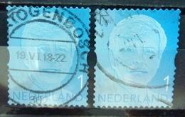 2017/18 Netherlands King Willem Alexander 2017+2018 Issue Used/gebruikt/oblitere - Oblitérés