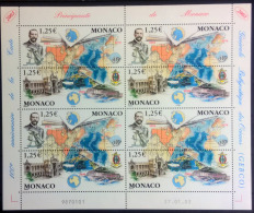 Monaco 2003 Unif.2404/05 Minisheet **/MNH VF - Blocks & Kleinbögen
