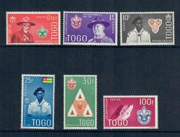 TOGO 1961 - SCOUT - SERIE COMPLETA  - MH* - Togo (1960-...)