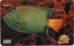 Malaysia - GPT, 14MSAB, Blue Fish, Fishes, Rif, 5RM, 1990, Used - Malaysia
