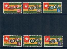 TOGO 1961 - ONU  - SERIE COMPLETA  - MH* - Togo (1960-...)