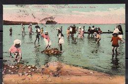 CPA 50 - CHERBOURG   (CH652 )  La Plage Du Casino -le Borda - Cherbourg