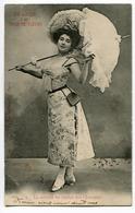 CPA Femme Avec Ombrelle (à Agnes Mege De Chassignolles ) - Illustrateurs & Photographes