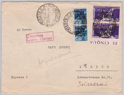 Brief Von Trieste Nach Zürich (br4973) - Storia Postale
