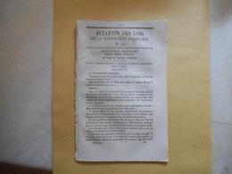 BULLETIN DES LOIS N°33 DU 4 MAI  1848 GOUVERNEMENT PROVISOIRE DECRETS COLONIES 22 PAGES - Décrets & Lois