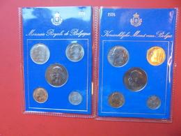 BELGIQUE FDC 1974 - 1951-1993: Baudouin I