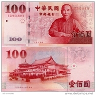 CHINA (TAIWAN)      100 Yuan       P-1991       ND (2000)       UNC - Taiwan