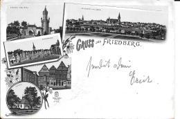 Sw Ansichtskarte 1914  Gruss Aus Friedberg ( Hessen ) - Friedberg