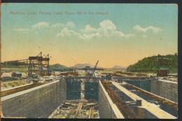 °°° 11607 - MIRAFLORES LOCKS , PANAMA CANAL , ANCON HILL IN THE DISTANCE °°° - Panama