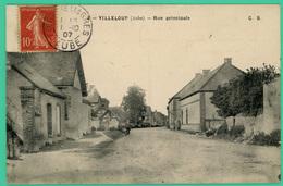 Villeloup  - Aube - Rue Principale - - Troyes