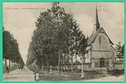 Piney  - Aube - Chapelle Et Route De Troyes - Animée - - - Troyes