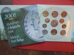 BELGIQUE FDC 2001 - 1993-...: Albert II