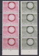 Europa Cept 1960  Belgium 2v 4x ** Mnh (40321B) - 1960