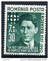 ROMANIA 1940 Codreanu Anniversary  MNH / **  Michel 680 - 1918-1948 Ferdinand, Charles II & Michael
