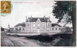 27 - LA CROIX-St.LEUFROY - La Mairie - Other Municipalities