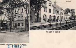 HAGENDINGEN (HAGONDANGE) Hotel Zur Eisenbahn H Reiter - Bahnhof - - Hagondange