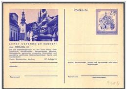 Austria/Autriche: Intero, Stationery, Entier, Torre Dell'orologio, Clock Tower, Tour De L'horloge - Stato: Vedi Scan - Orologeria