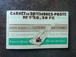 1942 Pétain 1,50F Brun Rouge  (YT : 517-C1)  20 Timbres PARFAIT ETAT   7 Points  ** MNH - Carnets