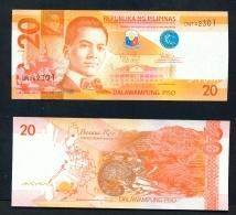 PHILIPPINES  -  2016  20  Pesos  UNC Banknote - Philippines