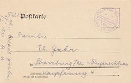 Allemagne Carte Feldpost Cachet Kaiserliche Marine 1915 - Brieven En Documenten