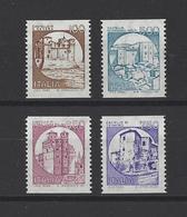 ITALIE. YT  1766/1769 Neuf **  Série Courante. Châteaux  1988 - 6. 1946-.. Republik