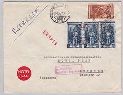 Brief In Die Schweiz (br5004) - 6. 1946-.. Republic