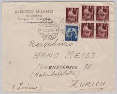 Brief In Die Schweiz (br5007) - 6. 1946-.. Republic