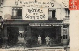 76 NEUFCHATEL-en-BRAY  Hôtel Du Lion D'Or - Neufchâtel En Bray