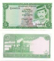 Brunei - 5 Ringgit 1984 UNC Lemberg-Zp - Brunei