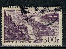 France 1949 - Oblitéré Used - Y&T N° 26 Poste Aérienne Lyon 300f Violet - 1927-1959 Matasellados