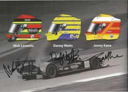 Livret TEAM STRAKKA RACING ( HONDA HPD ARX 01c ) Dédicacée Par Les Pilotes   - Endurance 1000 KM De SPA 2010 - Autographes