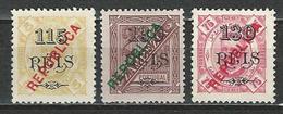 Zambezia Mi 70, 73b, 74A (*) No Gum - Zambezia