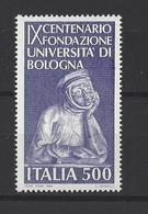 ITALIE. YT  1786  Neuf **  9e Centenaire De La Fondation De L'Université De Bologne  1988 - 1981-90: Ungebraucht