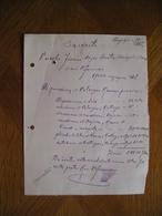 LITHUANIA Bill Pianino Pervezimas Kun.P.Jasienskis Kaunas 1925 - Invoices & Commercial Documents