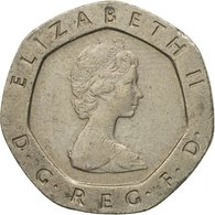 Monnaie, Grande-Bretagne, Elizabeth II, 20 Pence, 1984, TTB, Copper-nickel - 1971-… : Monnaies Décimales