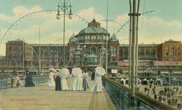 Scheveningen 1909; Op Het Wandelhoofd - Gelopen. (Dr. Trenkler Co. - Leipzig) - Scheveningen