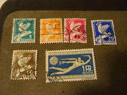 SUISSE HELVETIA Serie1932  Désarmement A Geneve - Suisse